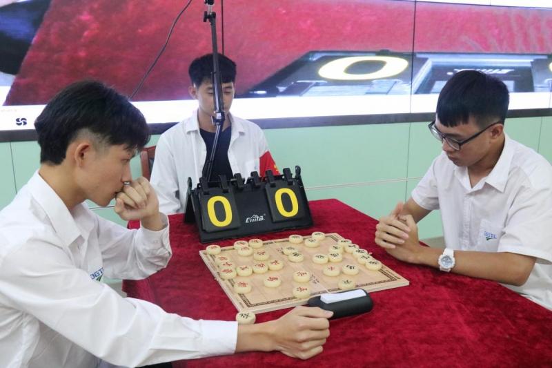 """""""以弈战疫,博弈精彩""""——2020年东莞市技师学院中国象棋比赛报道"""