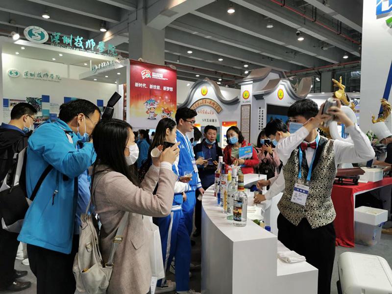 东技师生技能展示亮相第一届全国技能大赛