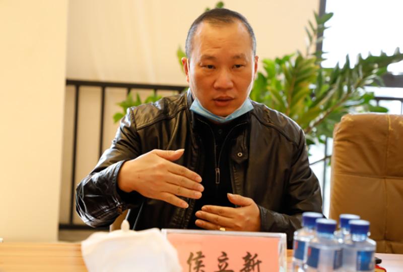 广东飞新达智能设备股份有限公司来访